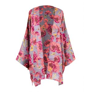 Ladies Poppy Print Jacket from Powder