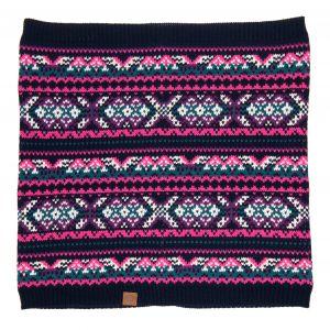 Ladies Animal Georgette Knitted Snood