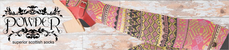 Powder Superior Scottish Socks