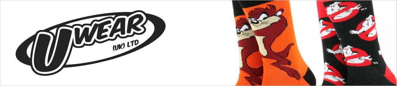 UWear Licensed Novelty Socks